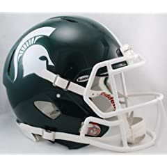 Buy NCAA Riddell Michigan State Spartans Speed Full-Size Authentic Helmet by Riddell