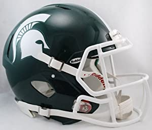 NCAA Riddell Michigan State Spartans Speed Full-Size Authentic Helmet by Riddell