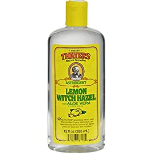 Thayers Lemon Witch Hazel Astringent with Aloe Vera Formula - 12 oz