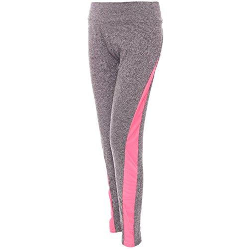 BEZLIT -  Pantaloni sportivi  - Jeggings - Basic - Donna Pink L/XL