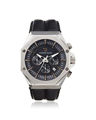 Andrew Marc Men's AM10010 AM Gentleman Black/Gunmetal Stainless Steel Watch