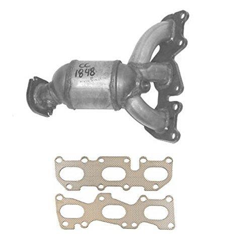 mac-auto-parts-133034-sante-fe-33l-rear-firewall-manifold-catalytic-converter-w-gasket-cc1848xl