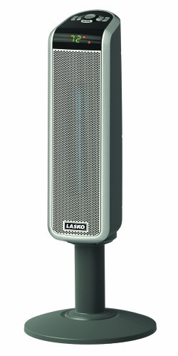 B005YR2A16 Lasko 5397 Ceramic Pedestal Heater with Remote Control