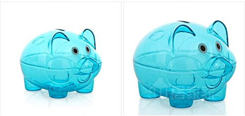 Clear Coin Bank Cute Pig Clear Piggy Bank Coin