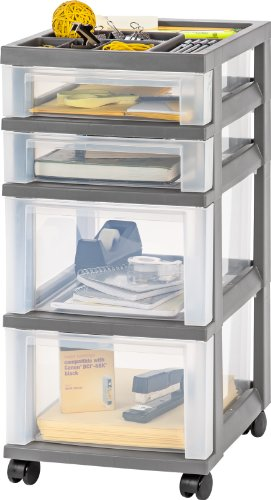 Portable Craft Storage : Craft sewing storage drawer shelves cart carrier
