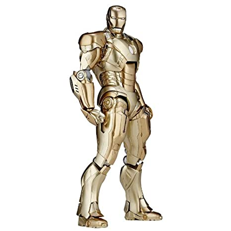 Iron Man figurine Sci-Fi Revoltech #052 Iron Man Mark XXI 16 cm
