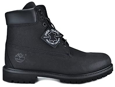 Timberland Men's 6-Inch Basic Scuff Proof Boots Black 34553 (14 D(M) US)