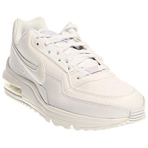 Nike Men's Air Max LTD 3 White/White/White Running Shoe 11.5 Men US (Air 3 compare prices)