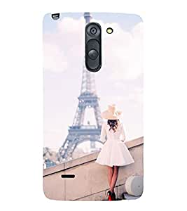 Vizagbeats Eiffel Tower Back Case Cover for LG G3 Stylus::LG G3 Stylus D690N::LG G3 Stylus D690