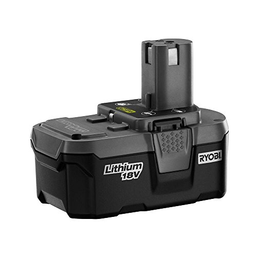 Ryobi 18-Volt One+ Lithium Ion High Capacity Battery front-192248