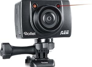 Rollei Bullet 3 S Action Cam (8 Megapixel CMOS Sensor, 4-fach digit. Zoom, 3,6 cm  (1,4 Zoll) Display) schwarz