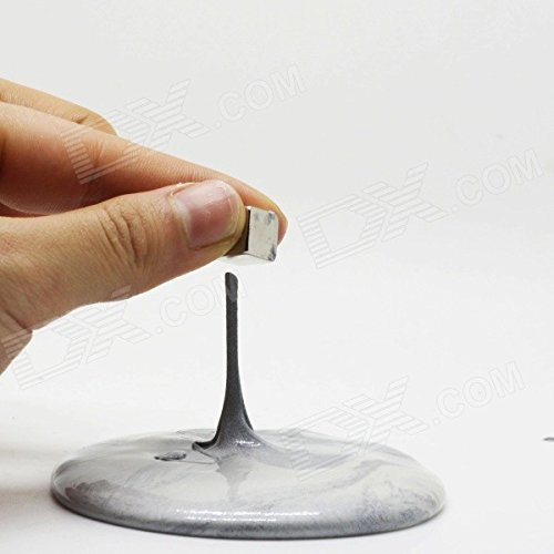 INWISH-Super-Magnetic-Putty-Hand-Therapy-Slime-Putty-Toys-QuickSilver-Sliver-Color-with-Free-Magnet-Mini-Tin