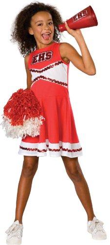 Girls Standard High School Musical Cheerleader Costume - Child Medium