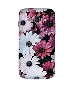White And Pink Flower Samsung Galaxy Ace 3 Case