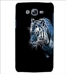 PrintDhaba Digital Tiger D-2207 Back Case Cover for SAMSUNG GALAXY J7 (Multi-Coloured)