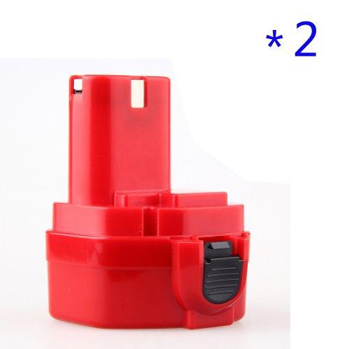 Topchances 2 Packs New 2.0Ah 12V Power Tool Battery For Makita 1220 1222 193981-6 6227D 6313D 6317D 6217Dwde 6217Dwdle 6223D 6223De 6223Dw 6223Dwe 6227D 6227Dw 6227Dwbe 6227Dwe 6227Dwle 6270Dwae 6270Dwale 6271Dwe 6271Dwpe 6313D 6313Da 6313Dwae 6313Dwbe 63