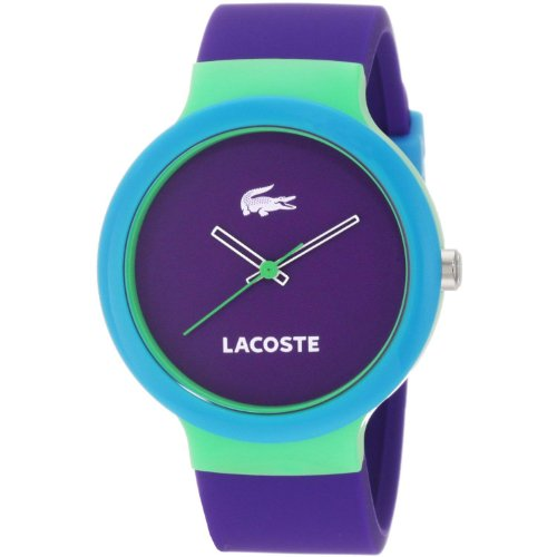 Lacoste Goa Purple Dial Unisex Watch 2020005