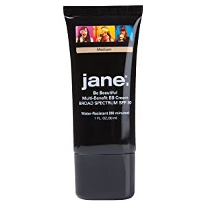 Jane Cosmetics SPF30 BB Cream, Medium, 1 Ounce