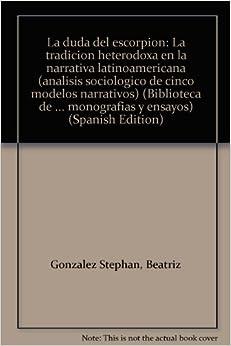 en la narrativa latinoamericana (analisis sociologico de cinco modelos