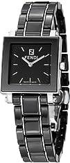 Fendi Quadro Ceramic Ladies Quartz Watch  F621210