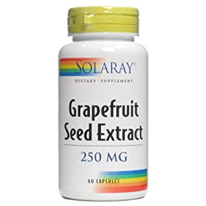 Grapefruit Seed Extract 250mg Solaray 60 Caps