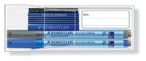 Imagen principal de Staedtler 305FWP2 Lumocolor Correctable 305 F - Set de rotuladores borrables