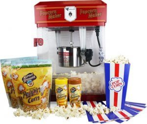 2.5oz Domestic Popcorn Maker Home Cinema Kit