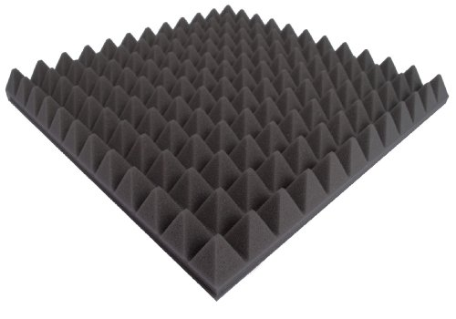 30 Pro Acoustic Foam Pyramid Tiles AFP45 Studio Sound Treatment