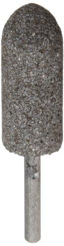 Norton NorZon Resin Bond Abrasive Mounted Point, Zirconia Alumina, A11 Shape, 1/4