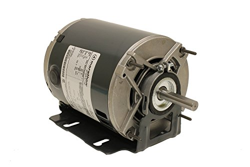 Marathon 48S17D2055 Belt Drive Motor, 1 Split Phase, Open Drip Proof, Resilient Ring Mount, Ball Bearing, 1/4 hp, 1725 rpm, 1 Speed, 115 VAC, 48YZ Frame (Single Phase Motor compare prices)