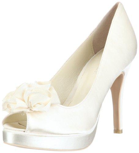 Menbur Wedding Amanda 04338, Damen Brautschuhe Pumps, Elfenbein (Ivory 04), EU 40