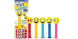 Kosher Pez Emojis Candy and Dispenser (Pack of 4)