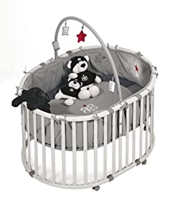 roba 0210 RS1, Rock Star Baby, Playpen Including Toy Bar from roba