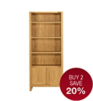 Sonoma Light Bookcase