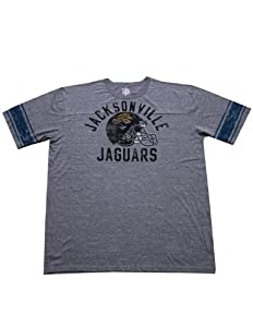 Mens NFL Jacksonville Jaguars Athletic Short Sleeve T-Shirt (Vintage Look) by NFL