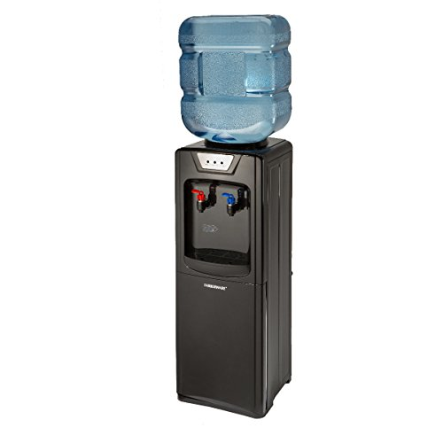 Farberware FW29919 Freestanding Hot and Cold Water Cooler Dispenser, Black (Water Dispensers compare prices)