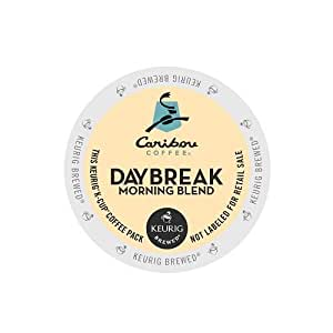 Caribou Coffee Daybreak Morning Blend, K-Cups for Keurig Brewers, 24-Count