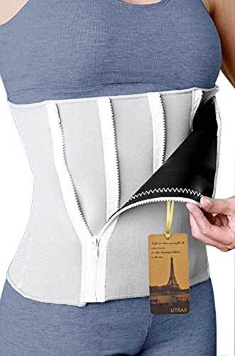 35-60waistline-Neoprene-5-Zipper-Adjustable-Weight-Loss-Slimming-Belt-Waist-Trimmer