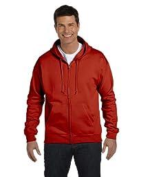 Hanes 7.8 oz. ComfortBlend 50/50 Full-Zip Hood>L DEEP RED P180