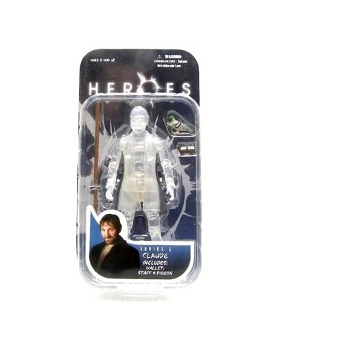 Heroes Series 2 Claude (Invisible Man Variant) Action Figure