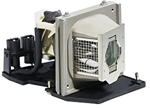 Electrified 310-7578 / 2400MP LAMP / GF538 Replacement Lamp with Housing for Dell Projectors