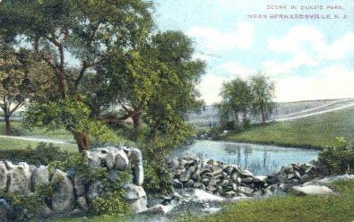 Bernardsville, New Jersey Postcard, 1908