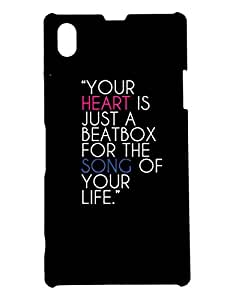 Pickpattern Back Cover for Xperia Z1