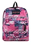 Jansport Pink Peace Sign Superbreak Backpack