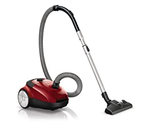 Philips FC8654/01 Aspirateur avec sac Performer Active Technologie AirFlowMax Rouge Vif 2100 W