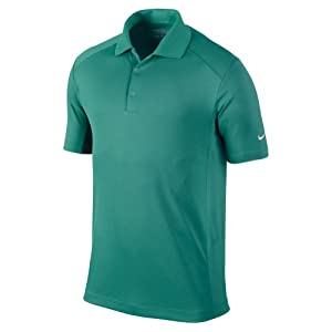 Nike Golf 2014 Dri-FIT Victory Polo Pro Green/White Small