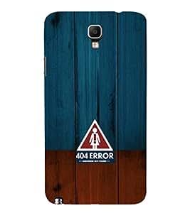 EPICCASE 404 Error Girlfriend not found Mobile Back Case Cover For Samsung Galaxy Note 3 Neo (Designer Case)
