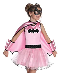 Batgirl/Batman Pink Girls Tutu Costume Dress