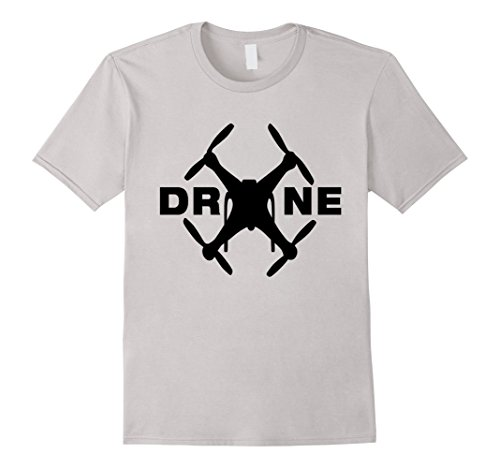 Drone-T-Shirt-UAV-Unmanned-aerial-vehicle-Robot-Graphic-Tee