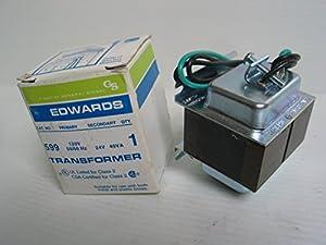 edwards signaling 599 120v 24v 40w transformer. Black Bedroom Furniture Sets. Home Design Ideas